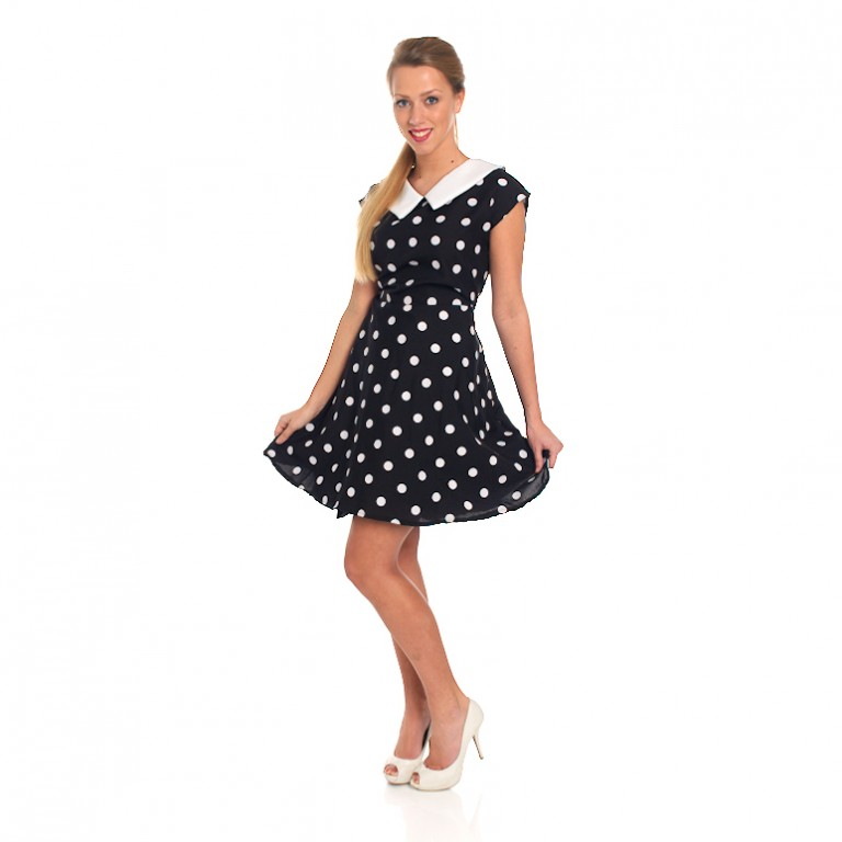 jurk met bolletjes