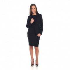 Black Dress avec veste assortie