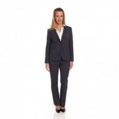 Grijze broek met bijpassende vest en (wit) hemd