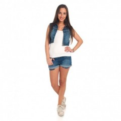 Jeans Short en/of Jeans Vest