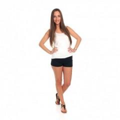 Jeans Short Zwart